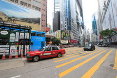 Street view in Hong Kong North Point Stock Image