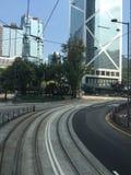 The street view of Hongkong Stock Image
