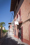 Street view by Hostal Corona Stock Image