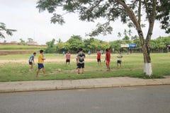 Street view in Hue, Vietnam Stock Images