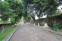 Street view in Hue, Vietnam Royalty Free Stock Photography