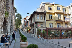 Street view in Istanbul. stock images