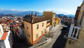 Street view of  Jaen in sunny day Royalty Free Stock Photo