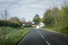 Street View of the Kent Countryside, UK Royalty Free Stock Photography
