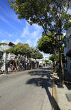 Street view in Key West Florida Stock Photos