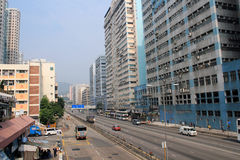 Street view in Kwai Chung Royalty Free Stock Image