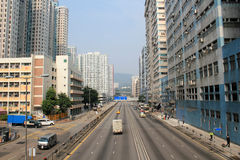 Street view in Kwai Chung Royalty Free Stock Photography