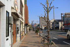 Street view in Kyoto Royalty Free Stock Photography