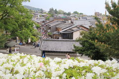 Street view in Kyoto Stock Images