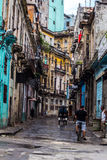 Street view in La Havana Royalty Free Stock Image