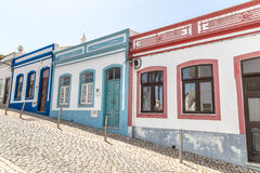 Street view Lagos Portugal. Lagos, Portugal - April, 18, 2017: Street view ancient center of Lagos, Algarve in Portugal Stock Photography