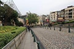 Street view in Macau Royalty Free Stock Photo