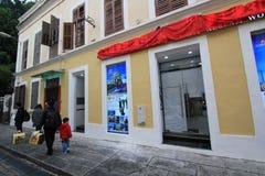 Street view in Macau Stock Photos