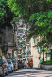 Street View of Macau,China royalty free stock image