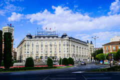 Street view of madrid Stock Photography