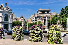 Madrid Spain stock photo