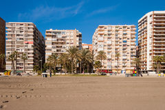 Street view of Malaga Royalty Free Stock Image