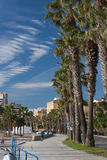 Street view of Malaga Stock Images