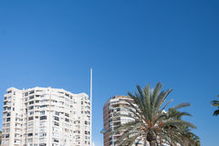 Street view of Malaga Royalty Free Stock Images