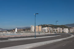 Street view of Malaga Stock Photography