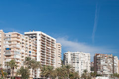 Street view of Malaga Stock Image