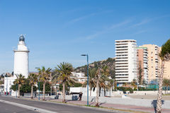 Street view of Malaga Royalty Free Stock Photos