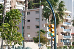 Street view of Malaga Royalty Free Stock Photo