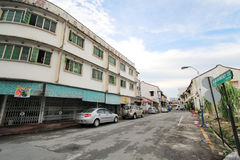 Street view in Malaysia Penang Stock Image