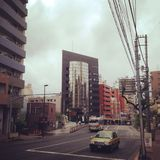 Street view. Meguro street view Royalty Free Stock Photos