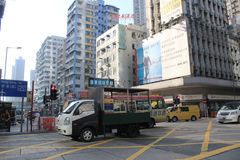 Street view in Mong Kok Royalty Free Stock Image
