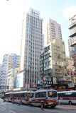Street view in Mong Kok Royalty Free Stock Photography