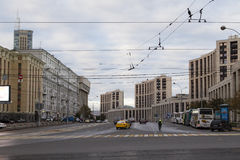 Street view in moscow Stock Images