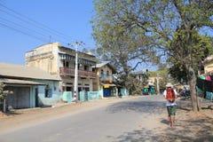 Street view in Myanmar Yangon Stock Photography