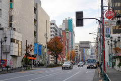 Street view in Nagoya, Japan Royalty Free Stock Photos