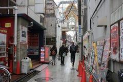 Street view at Nakano tokyo Stock Image