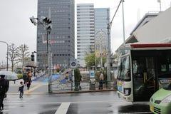 Street view at Nakano tokyo Stock Images