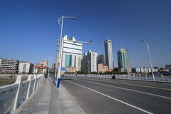 Street view in Nanchang City Royalty Free Stock Image