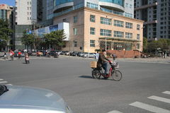 Street view in Nanchang City Royalty Free Stock Photography