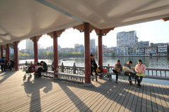 Street view in Nanchang City Royalty Free Stock Photos