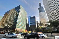 Street view near Chicago Union Station. Chicago city street view near Chicago Union Station. Photo taken in October 6th, 2014 Stock Photography