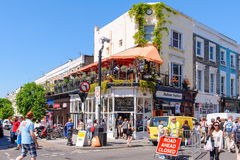 Street view of notting hill Stock Photo