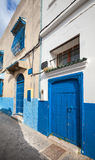Street view of old Medina. Tangier, Morocco Royalty Free Stock Image