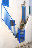 Street view in Ostuni, Italy Royalty Free Stock Image