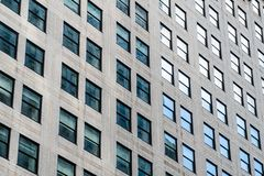 Free Street View Over Building Facade With Lines And Windows. Graphic Pattern Architecture, Urban Concept, Manhattan, New Royalty Free Stock Images - 164842889