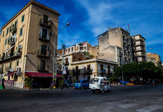 Street view, Palermo, Sicily Stock Photos