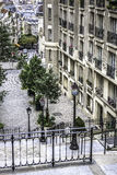 Street view in Paris, France Stock Image