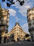 Street view of Paris stock photo