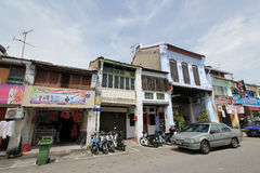 Street view in Penang Malaysia Stock Images