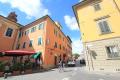 Street view in Pisa, Italy Royalty Free Stock Photos