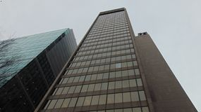 Street View: Pittsburgh Pennsylvania arkivbild
